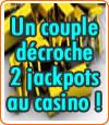 Un couple décroche 2 jackpots au Casino Barrière de Bordeaux-Lac.