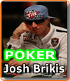 Josh Brikis, joueur de poker professionnel.