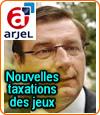 Jean-François Lamour, patron de l'Arjel, s'explique au sujet de la taxation des jeux en ligne.