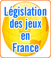 Législation française sur les jeux d'argent en ligne.
