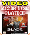 Blade, le chasseur de vampires, une machine à sous Playtech.