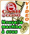 CashOccino, Microgaming invente la machine à sous dont le thème est le café.
