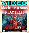 Daredevil, la machine à sous de Playtech où vous pouvez miser 2000 € par tour.