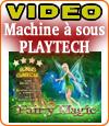 Fairy Magic, une machine à sous dont le jackpot est à 1.500.000 €.