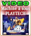 Notre avis sur la machine à sous Fantastic 4 Four de Playtech.