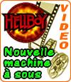 Hellboy, une machine à sous sous licence de Dark Horse Comics.