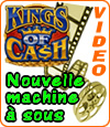 Kings of Cash de Microgaming, un jackpot jusqu'à 75.000 €.