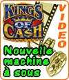 Kings of Cash de Microgaming, un jackpot jusqu'à 75.000 €.
