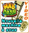 Mad Dash, nouvelle machine à sous Microgaming.