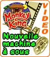 Monkey King, une machine à sous avec la légende chinoise du Sun Wu Kong.