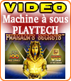 Pharaoh's Secrets, la machine à sous Playtech aux 100 tours gratuits.
