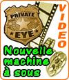 Private Eye, une machine à sous riche en bonus et en surprises.