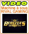 Beretta's Vendetta, démo et notre avis sur cette slot de marque Rival.