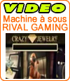 Rival Gaming lance Crazy Jewelry, machine à sous en 3D.