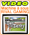 A Day at the Derby, une machine à sous de Rival Gaming.