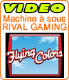 Notre avis sur la machine à sous Flying Colors de Rival Gaming.