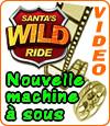 Santa's Wild Ride, une slot Microgaming pour Noël.