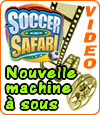 Soccer Safari, slot de football de Microgaming en réponse à Playtech.