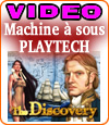 The Discovery, une nouvelle machine à sous de Playtech.