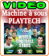 Top Trumps World Football Stars, une machine à sous de Playtech.