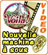 Voilà, une machine à sous de Microgaming dont le thème est la France.