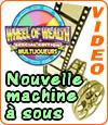 Wheel of Wealth MultiPlayer de Microgaming, une slot pour 6 joueurs en simultané.