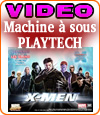 X-Men, machine à sous de Playtech avec des comics books.