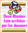 Micheline Tremblois et Marie-Claude Pezotta accusées de lotos bingos clandestins par les douanes.