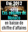 Les casinos de Monaco en baisse : des contrôles douaniers entre la France et l'Italie.