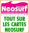 Néosurf, les cartes prépayées qui vous protègent de l'addiction et qui vous sécurisent.