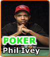 Phil Ivey, joueur professionnel de la team de Full Tilt Poker.