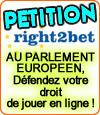 Right2bet, un site qui lutte pour le droit de jouer aux jeux d'argent en ligne.