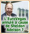 L'EuroVegas annulé en Espagne à cause de Sheldon Adelson ?