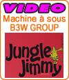 Jungle Jimmy, une bonne machine à sous de B3W Group.