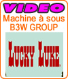 B3W Group lance la machine à sous Lucky Luke.