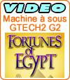 Fortunes of Egypt, machine à sous du développeur Gtech.