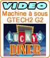 Lucky's Dinner, machine à sous du développeur Gtech.