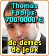 Thomas Fabius et sa dette de jeu de 700.000 Euros à la Société des bains de mer (casinos de Monaco).
