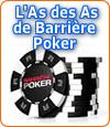 Lancement du tournoi l'As des As et d'un nouveau buzz par Barrière Poker.