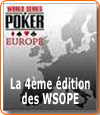 Le programme des World Series of Poker Europe (WSOPE).