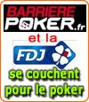 Le Groupe Barrière et la FDJ fermeront leur salle de poker le 30 Septembre.