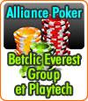 Betclic Everest Group, un nouveau partenaire pour le poker entre en jeu : Playtech.