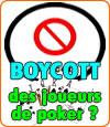Boycott général des joueurs français de poker en ligne en ce mois de Novembre ?