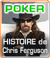 "Chris Ferguson dit ""Jesus"", un joueur de poker au look inimitable !"