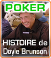 Doyle Brunson alias Texas Dolly, une figure et une légende incontournable du poker.