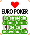 EuroPoker, un nouveau opérateur qui parie sur le poker et son avenir.