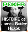 "Portrait du joueur de poker James Butler Hickok, alias ""Wild Bill""."
