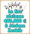 Jerôme Zerbib, joueur de poker, le fisc lui réclame 400.000 € d'impôts.
