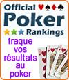 Official Poker Ranking, le site qui traque vos résultats au poker.
