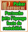Partouche fermera sa salle de poker en ligne le 17 Juin.